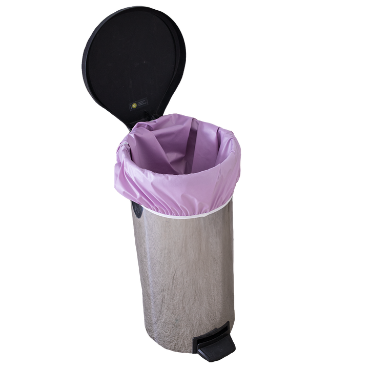 Smart Bottoms - Pail Liner - Orchid Diaper pail liner - cloth diaper storage - Reusable garbage bag liner