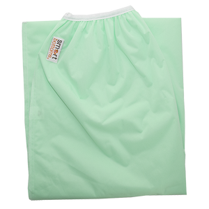 Smart Bottoms - Pail Liner - green Diaper pail liner - Dublin - cloth diaper storage - Reusable garbage bag liner