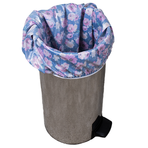 Smart Bottoms - Pail Liner - floral Diaper pail liner - Petit Bouquet - cloth diaper storage - Reusable garbage can bag liner
