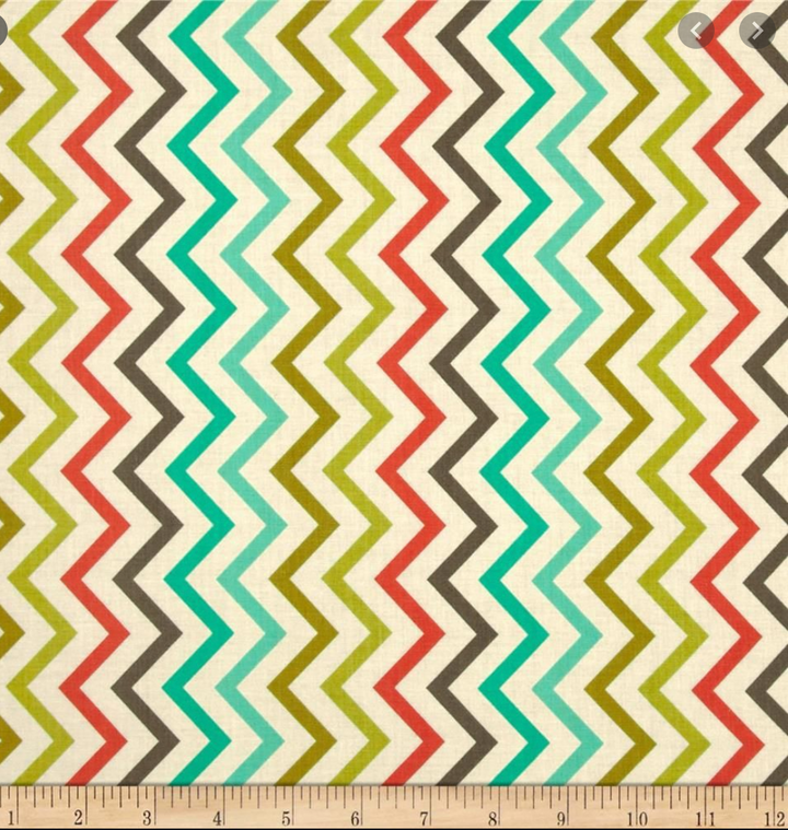 Michael Miller - Mini Chic Chevron (Sold by the Yard)