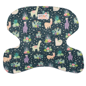 Smart Bottoms - Seat Saver - Tina - Llama print car seat cover - car seat protector
