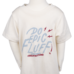 Baby T-Shirt - Epic Fluff - smartbottoms