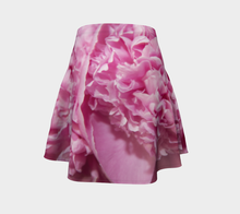 Grandpas Peony 2 ealanta Flared Skirt Flare Skirt- ealanta Art Wear