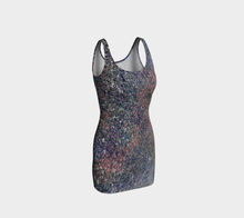 Monet Inspired Pebbles in the Shuswap ealanta Fitted Bodycon Dress