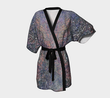 Monet Inspired Pebbles in the Shuswap ealanta  Kimono Robe