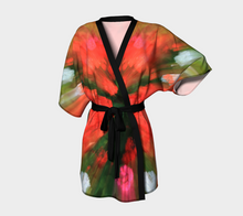 Flower Garden Dream (Robe) Kimono Robe- ealanta Art Wear