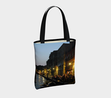 Venice Night ealanta Lined  Tote Tote Bag- ealanta Art Wear