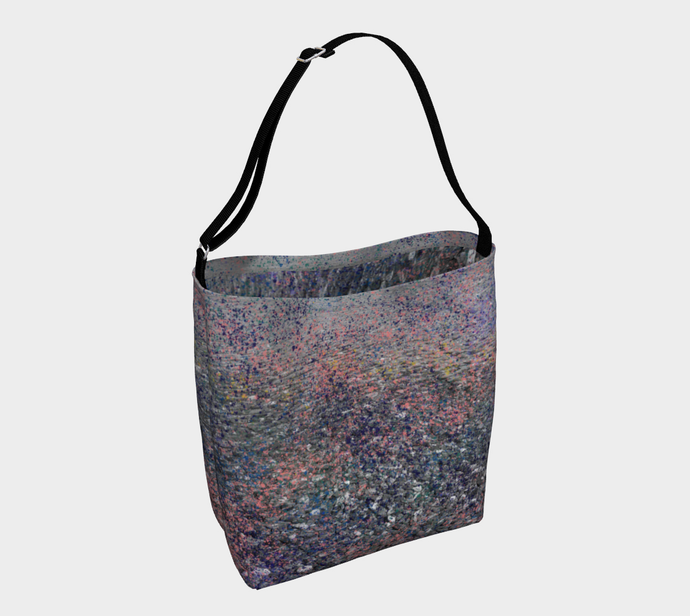 Monet Inspired Pebbles in the Shuswap ealanta  Neoprene Tote Bag