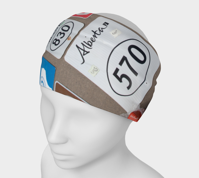 Alberta Road Signs ealanta Headband