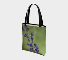 Purple Blossoms Deluxe Tote Lined ealanta
