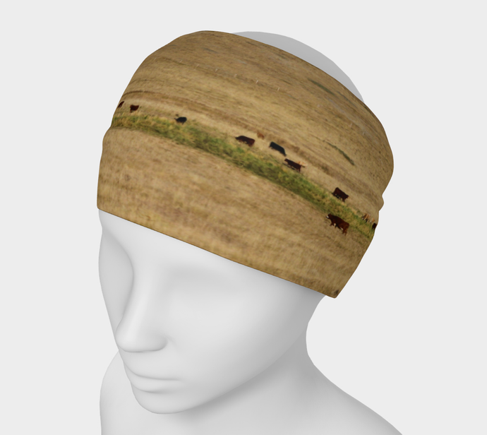Cattle Grazing Alberta Headband ealanta