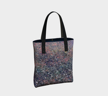 Monet Inspired Pebbles in the Shuswap ealanta Deluxe Tote Bag