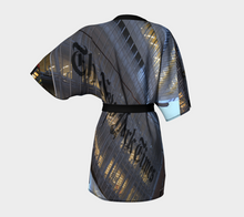New York Times Building ealanta Robe Kimono Robe- ealanta Art Wear