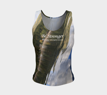 Be Stronger Shuswap Fitness ealanta Fitted Tank Top