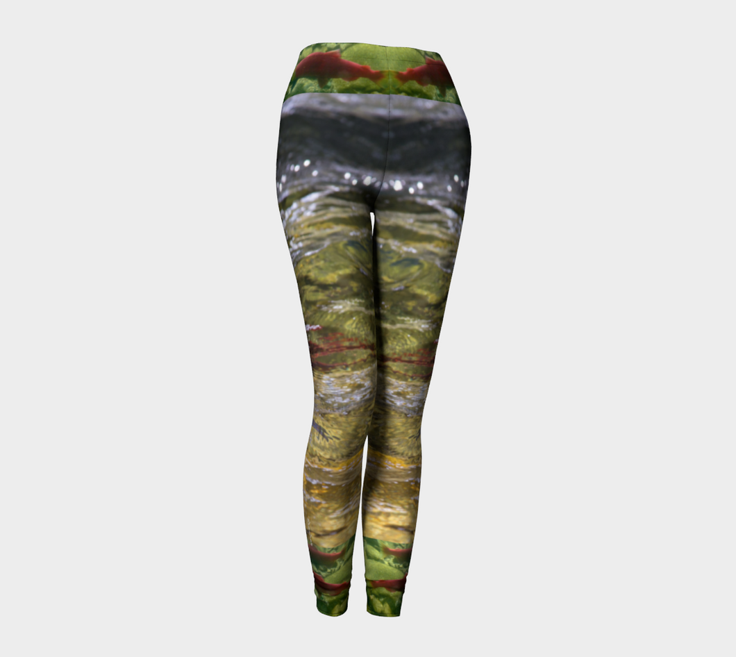 Salmon Run BC 2018  Leggings ealanta