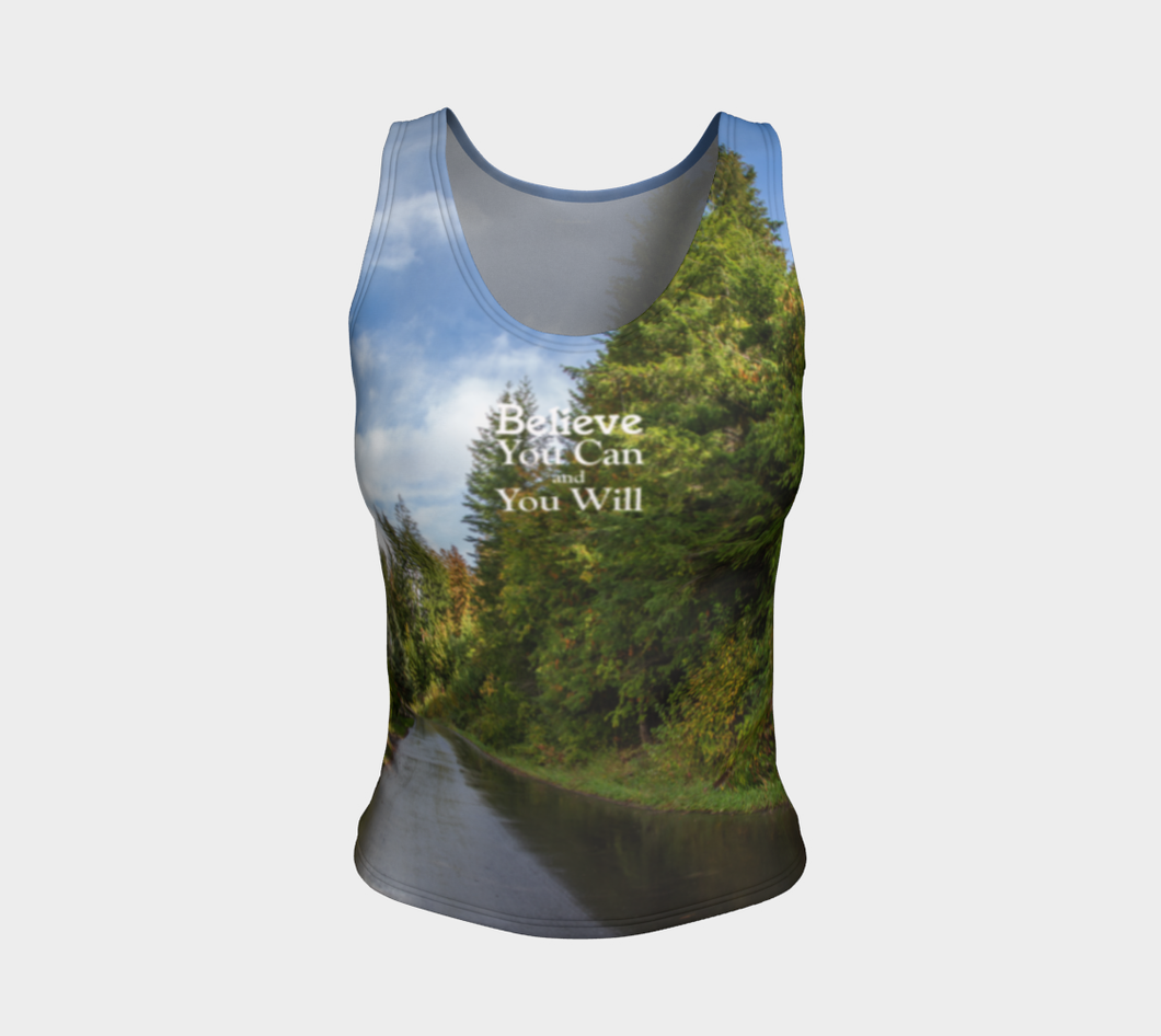 Believe you Can Shuswap ealanta Fitted Tank
