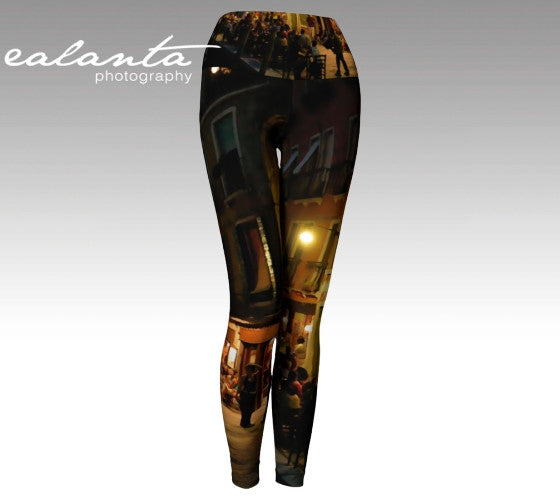 Yoga Pant Venice Night - ealanta Art Wear