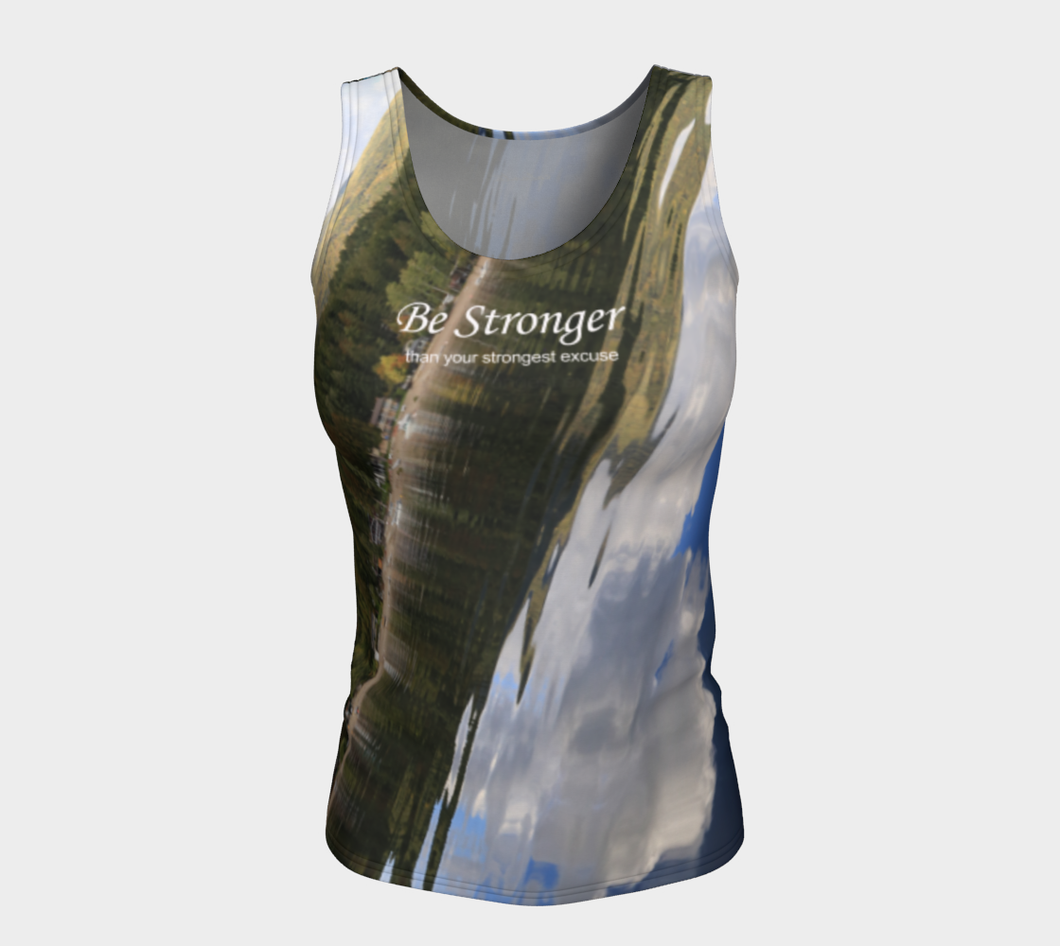 Be Stronger Shuswap Fitness ealanta Fitted Tank Top (24-25