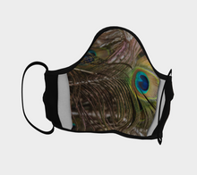 Peacock Feather Face Mask ealanta