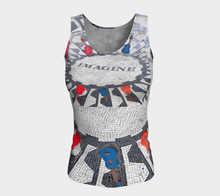 Imagine the music fitted Tank ealanta Fitted Tank Top (Long)- ealanta Art Wear