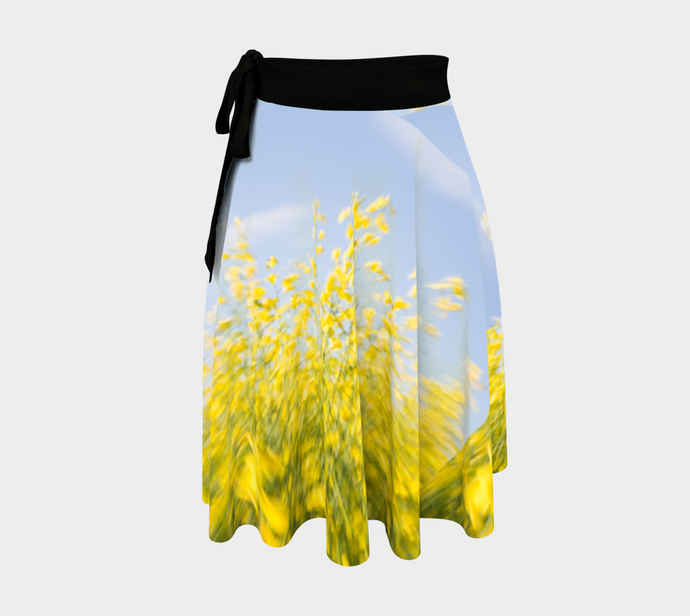 Canola Patch ealanta Wrap Skirt