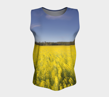 Canola Alberta Top ealanta Loose Tank Top (Long)- ealanta Art Wear