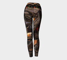 A Toast to the Tuscan Sun Yoga Leggings ealanta Yoga Leggings- ealanta Art Wear