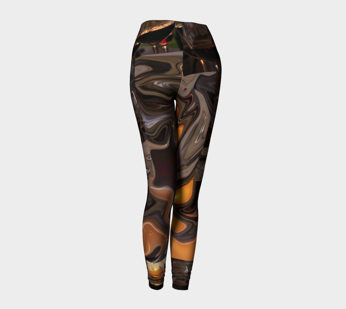 A Toast to the Tuscan Sun  Leggings ealanta Leggings- ealanta Art Wear