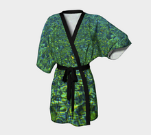 Tuscan Pool Reflections Kimono Robe- ealanta Art Wear