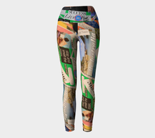 Delous Vision 1 Yoga Leggings ealanta Yoga Leggings- ealanta Art Wear