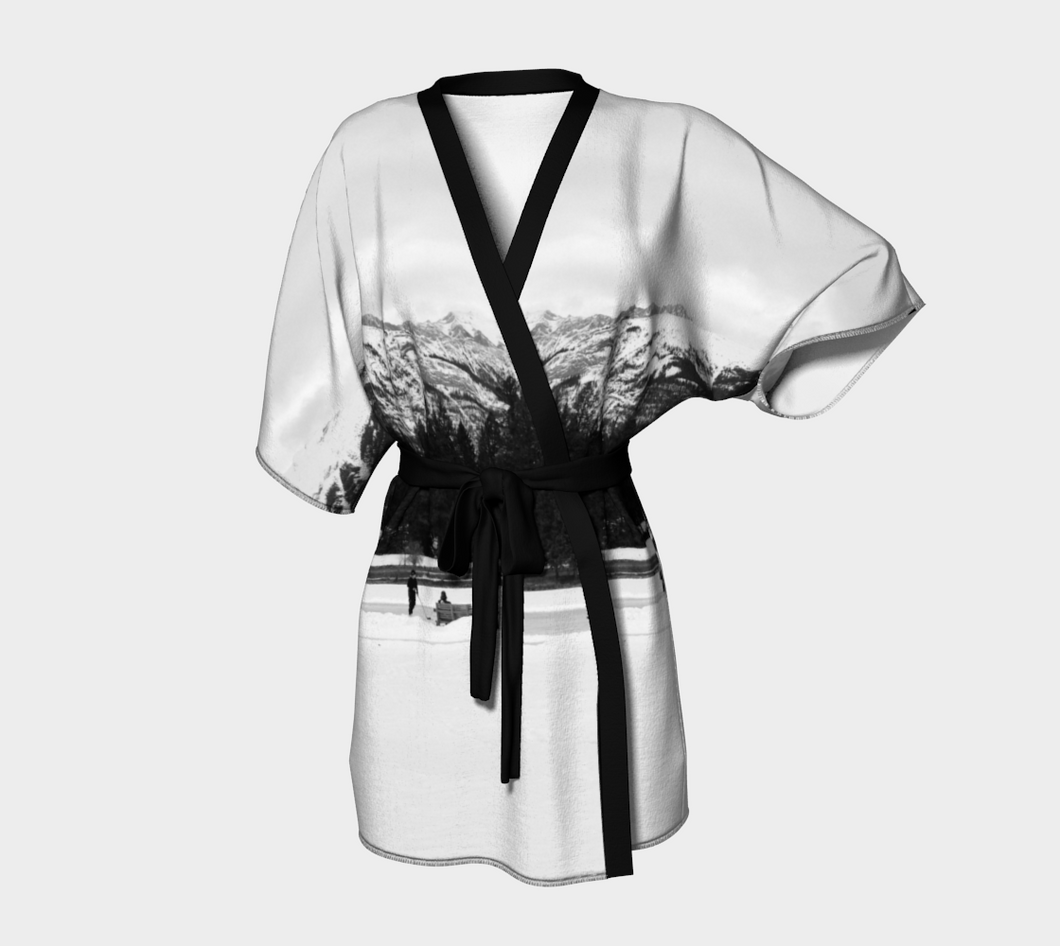 Mountain Rink Jasper ealanta robe Kimono Robe- ealanta Art Wear