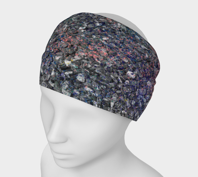 Monet Inspired Pebbles in the Shuswap ealanta Headband