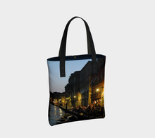 Venice Night ealanta Lined  Tote