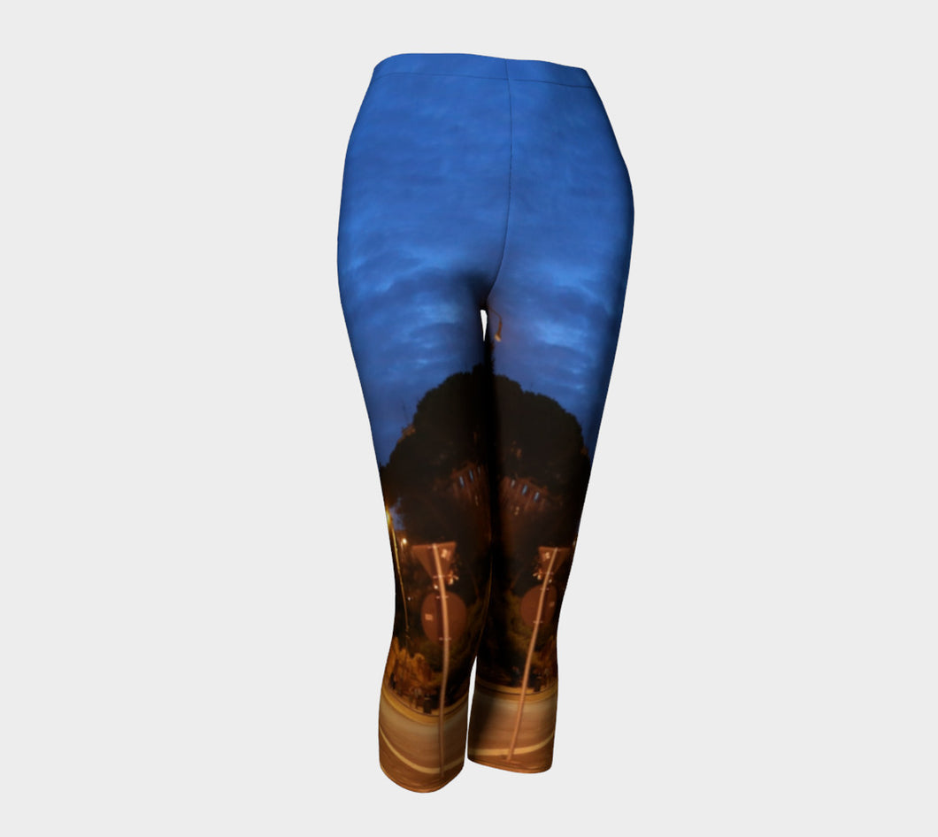 Roman intersection Capris- ealanta Art Wear