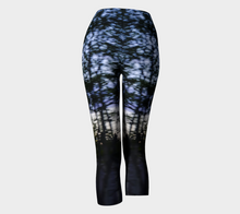 Tree Motion Capri Leggings 2 Capris- ealanta Art Wear