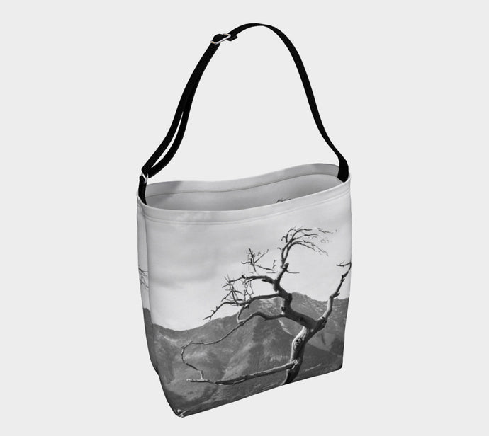 Burmis Tree Crowsnest Pass Alberta Tote Bag ealanta.ca Day Tote- ealanta Art Wear