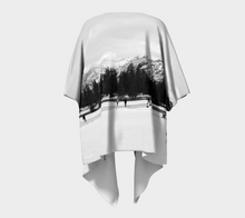 Mountain Rink Jasper ealanta Draped Kimono- ealanta Art Wear
