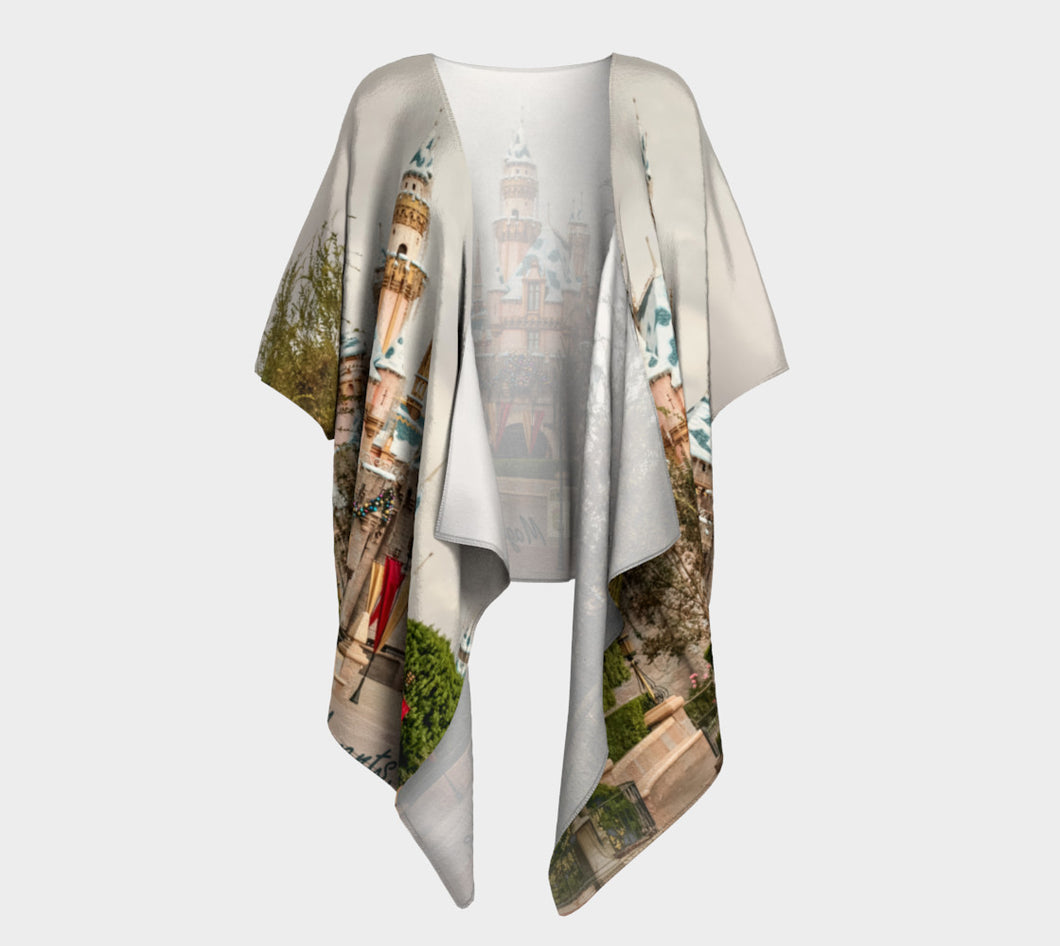 Magic Moments Memories Draped Kimono- ealanta Art Wear
