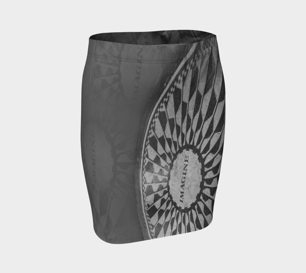 Imagine Fitted Skirt ealanta Fitted Skirt- ealanta Art Wear