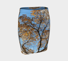 Tree Hug fitted skirt Fitted Skirt- ealanta Art Wear