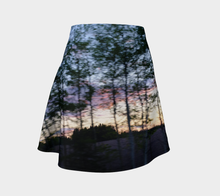 Tree Motion Alberta Flared Skirt Flare Skirt- ealanta Art Wear