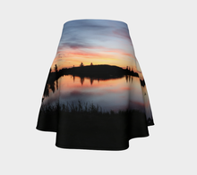 Beaumont Sunset at Four Seasons Flared Skirt Flare Skirt- ealanta Art Wear
