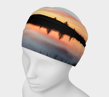 Beaumont Blues Sunset Headband Headband- ealanta Art Wear