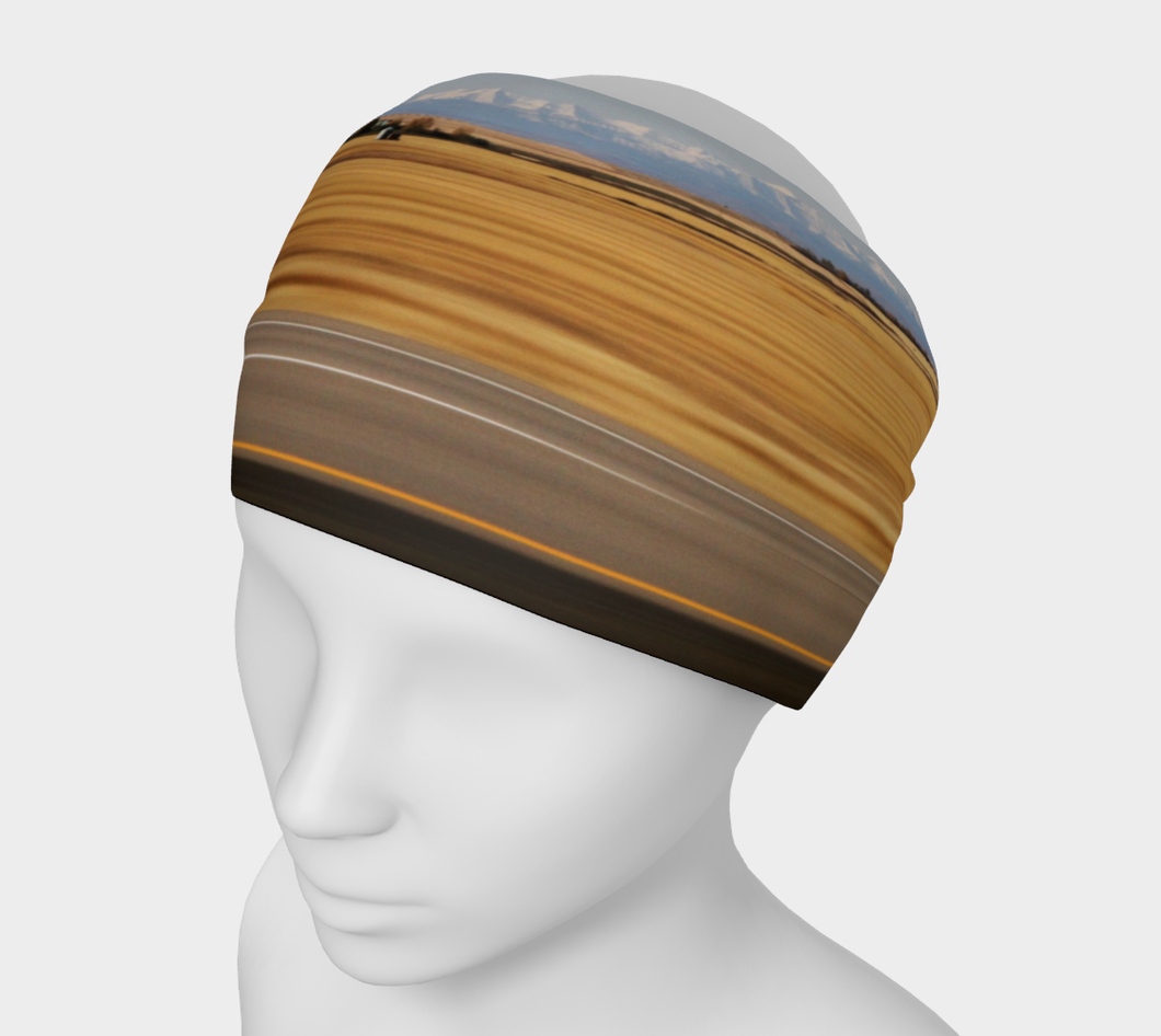 Alberta Road Trip Headband Headband- ealanta Art Wear