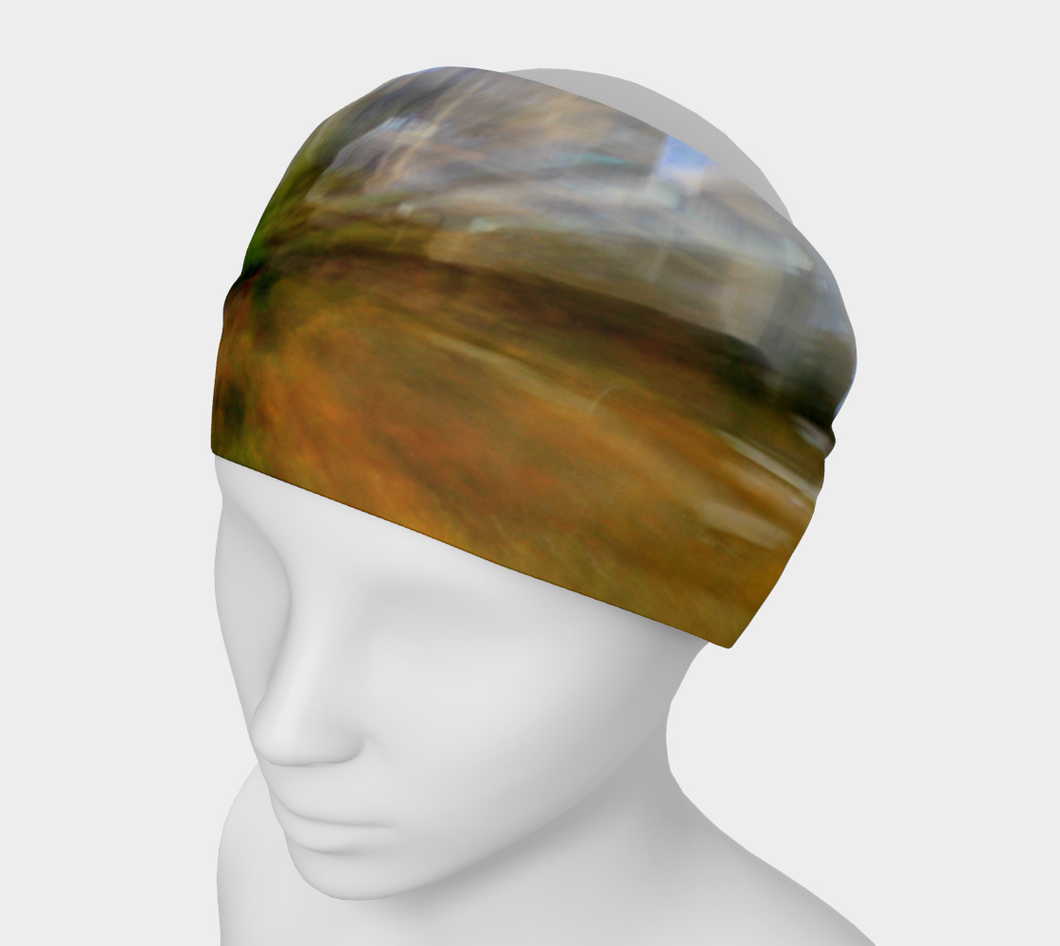 Edmonton in Motion Headband Headband- ealanta Art Wear