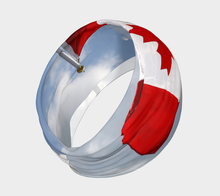 Canadian Flag Headband ealanta art wear Headband- ealanta Art Wear