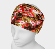 Canada flags Headband Headband- ealanta Art Wear