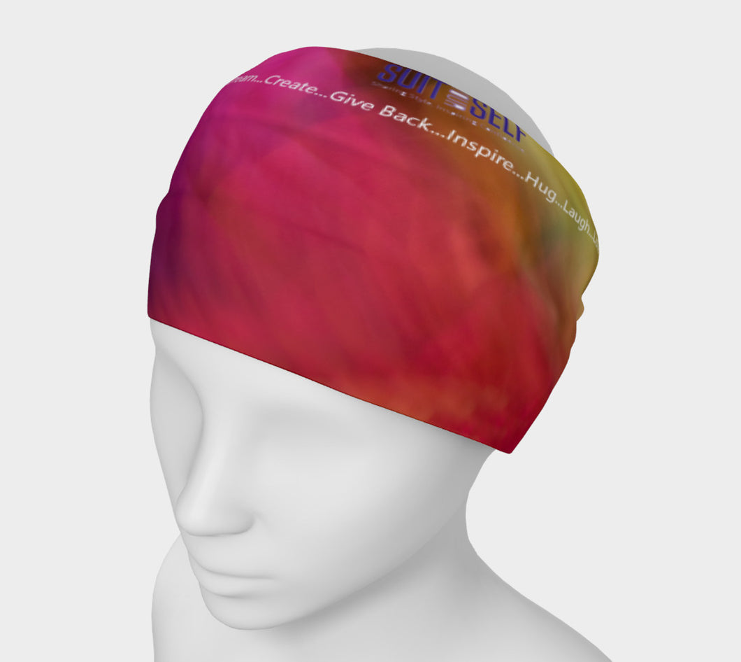 Live with Intention Suit Yourself 2 Headband- ealanta Art Wear