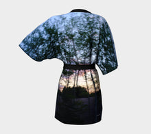 Alberta Tree Motion ealanta Kimono Robe- ealanta Art Wear