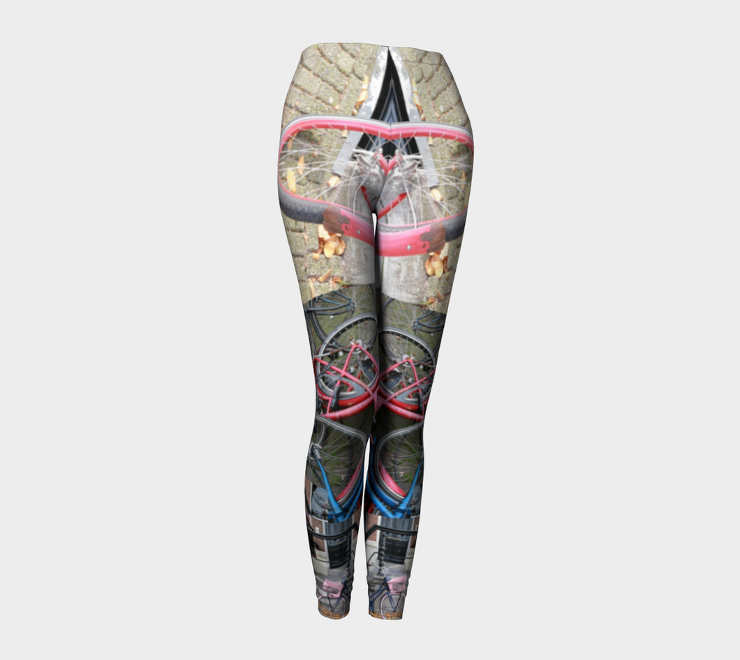 Bikes of Amsterdam leggings ealanta Art Wear Leggings- ealanta Art Wear